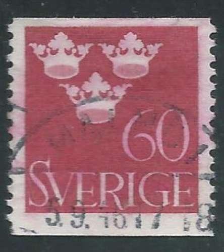 Suède - Y&T 0266 (o)