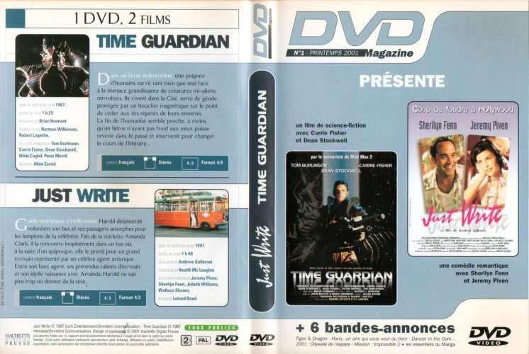 DVD magazine N°1 de 2001 avec 2 films et 6 bandes annonces