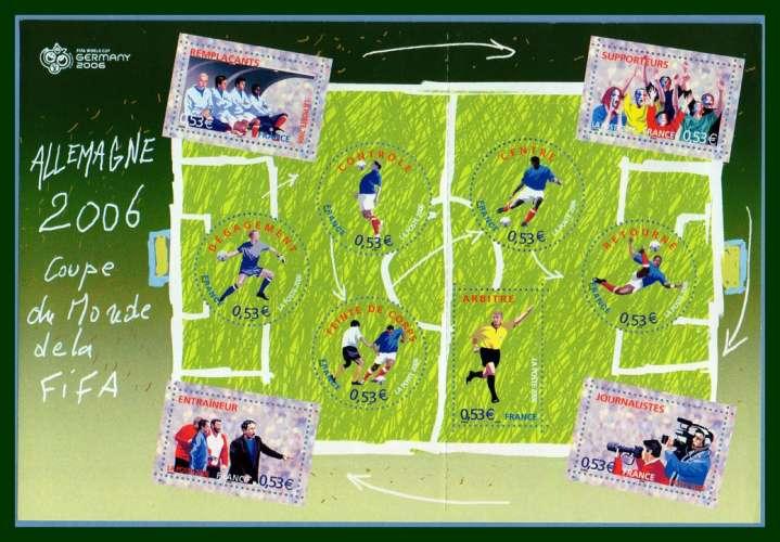 France BF 97 ** (MNH) Coupe du Monde Allemagne 2006 FIFA