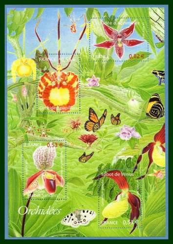France BF 81 ** (MNH) Orchidées