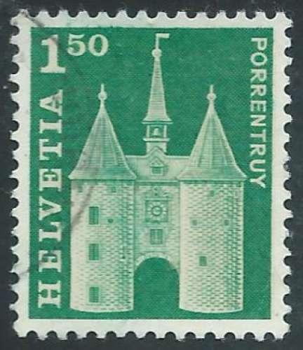 Suisse - Y&T 0823 (o) - Porte de France -