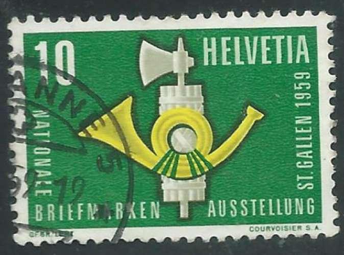 Suisse - Y&T 0622 (o) - Exposition philatélique -