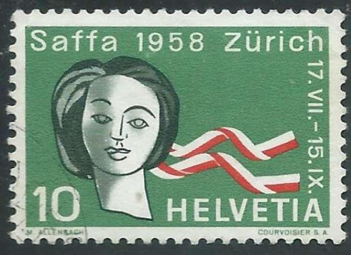 Suisse - Y&T 0603 (o) - Exposition de Zurich -