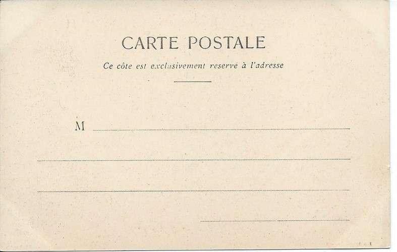 CPA - 82 - Moissac - Canal et Quais - Dos non divisé scanné