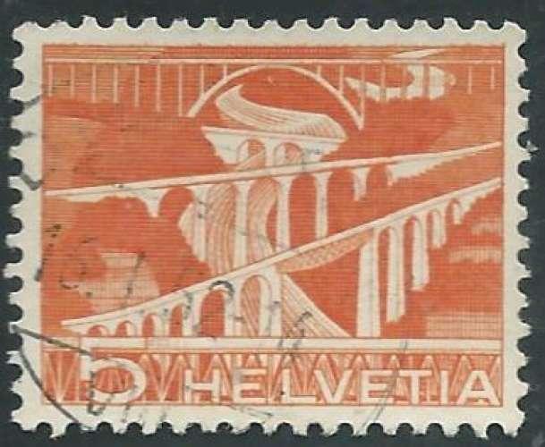 Suisse - Y&T 0482 (o) - Ponts -