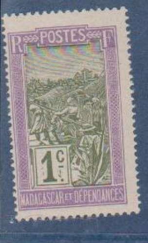 MADAGASCAR       N°   94    NEUF AVEC CHARNIERES      (08/16 )