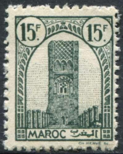 MAROC   -   Y & T  :  N°  221  *    _  Cote  :   1,30  €