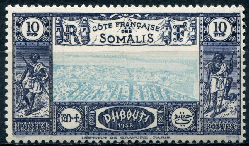 COTE DES SOMALIS  _  Y & T  :  N°  168  **   -   Cote  :   3,90  €