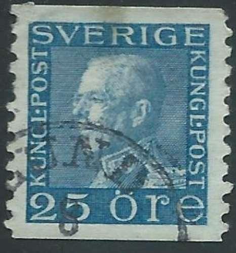 Suède - Y&T 0213 (o) - Roi Gustave V -