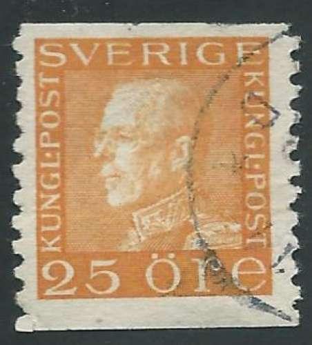 Suède - Y&T 0214 (o) - Roi Gustave V -