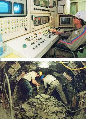 CALAIS : Lot de 6 CPM Eurotunnel
