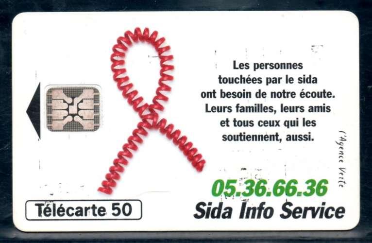 France F532 SIDA ruban 50U-SC5 1994