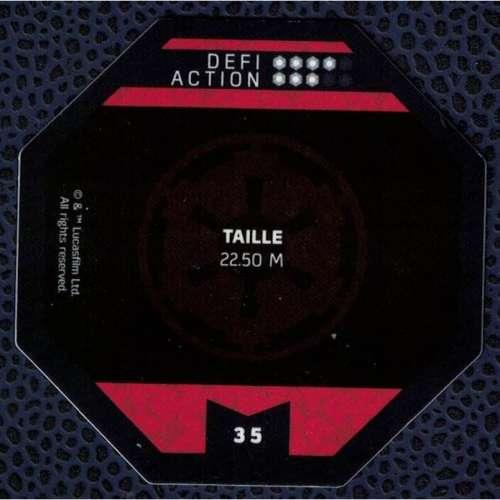 Jeton E. Leclerc Cosmic Shells Star Wars TB - TT Transport Blindé Tout Terrain 35