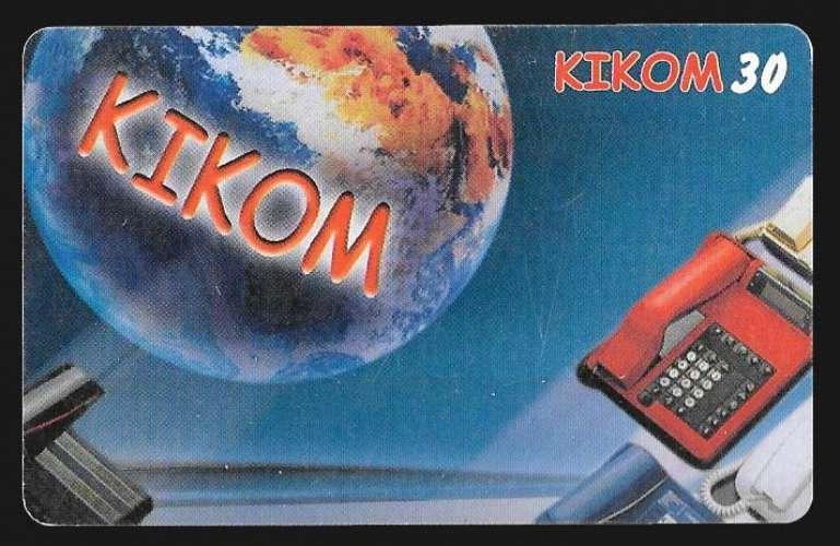 Madagascar - Carte prépayée - Kikom - Kikom30
