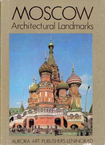 Pochette de 17 CPM MOSCOU : Architectural Landmarks