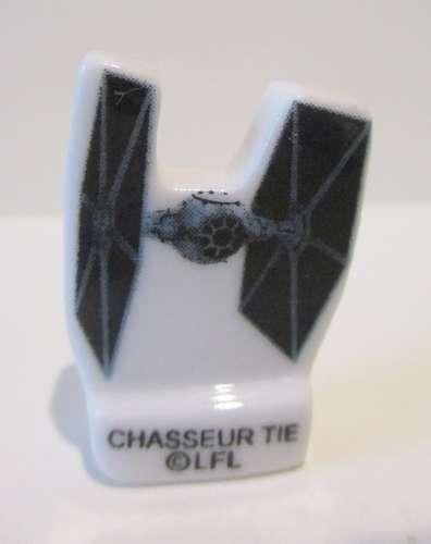 Fève brillante plate - Chasseur Tie dans Star Wars - 2017 LFL