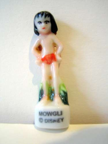 Fève brillante - Mowgli dans le Livre de la Jungle de Disney