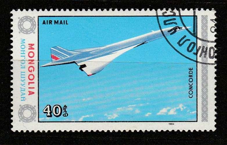 Mongolie Concorde YT  PA 154 o