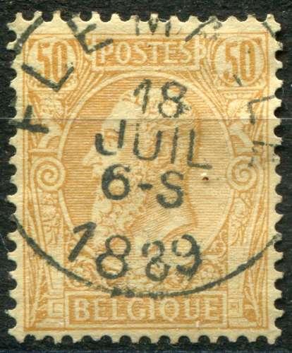 BELGIQUE  - Y & T  :  N°   50  (o)   Cote  :   2,00  €