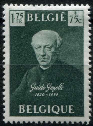 BELGIQUE  _  Y & T  :  N°   813  *   -  Cote  :   1,50  €