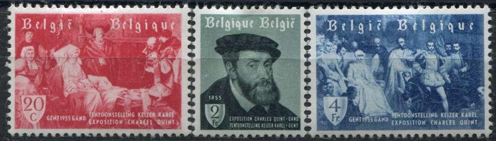 BELGIQUE  _  Y & T  :  N°   964/966  *   -  Cote  :   3,25  €