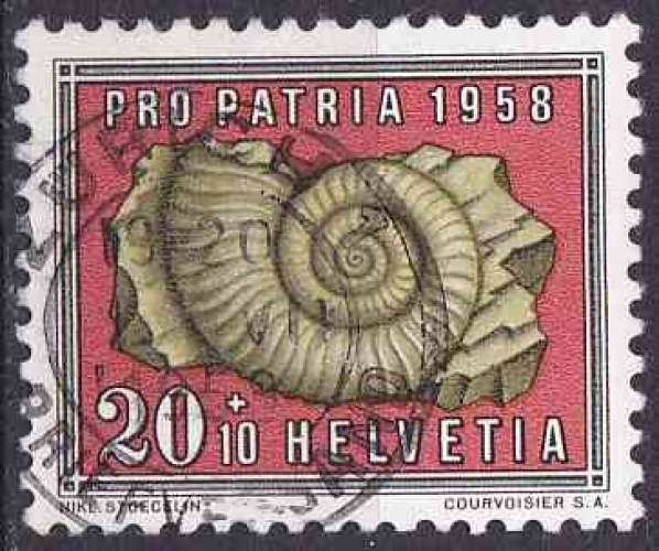 SUISSE 1958 OBLITERE N° 608