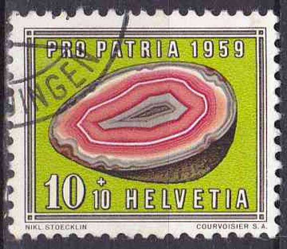 SUISSE 1959 OBLITERE N° 626