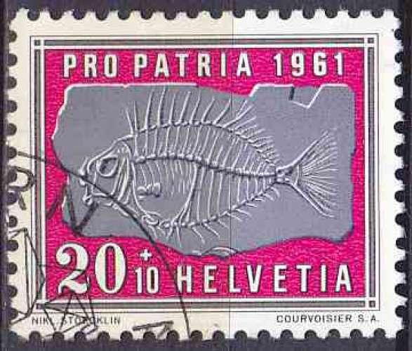 SUISSE 1961 OBLITERE N° 679