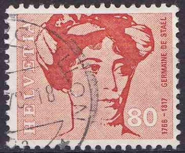 SUISSE 1969 OBLITERE N° 845