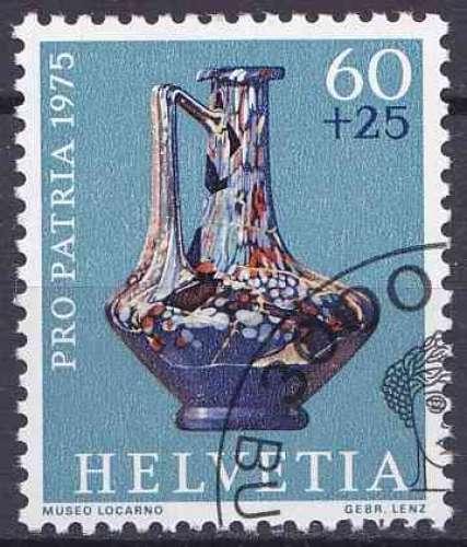 SUISSE 1975 OBLITERE N° 986