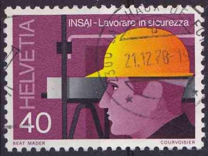SUISSE 1978 OBLITERE N° 1066
