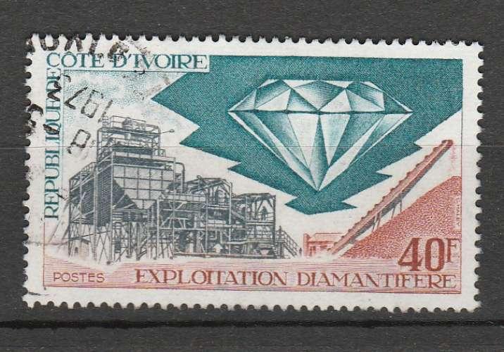 Côte d'Ivoire  Exploitation diamantifère Y&T 342 o
