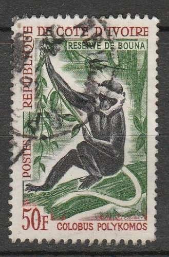 côte d'Ivoire singe Y&T 220 o