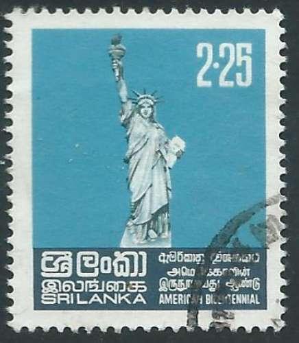 Sri Lanka - Y&T 0480 (o) - Statue de la Liberté -