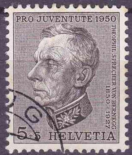 SUISSE 1950 OBLITERE N° 502