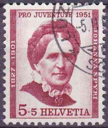 SUISSE 1951 OBLITERE N° 512