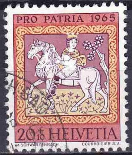 SUISSE 1965 OBLITERE N° 749