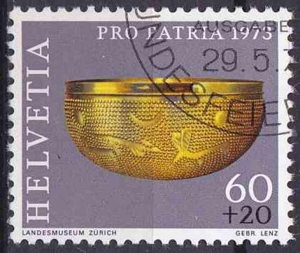 SUISSE 1973 OBLITERE N° 929