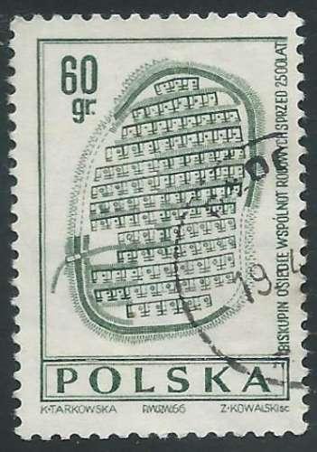 Pologne - Y&T 1581 (o) - Archéologie -