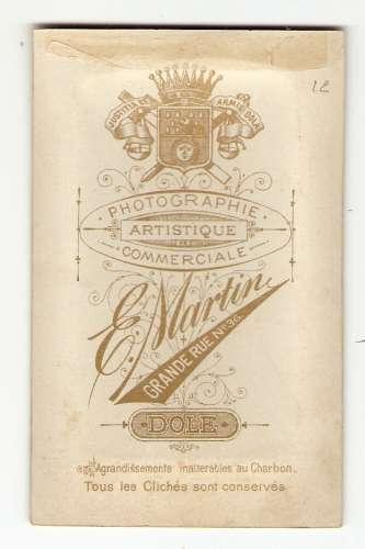 PHOTO ORIGINALE MILITAIRE SABRE - E. MARTIN DOLE