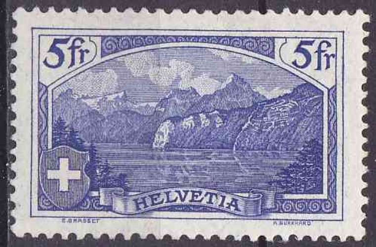 SUISSE 1914 NEUF charnière N° 143