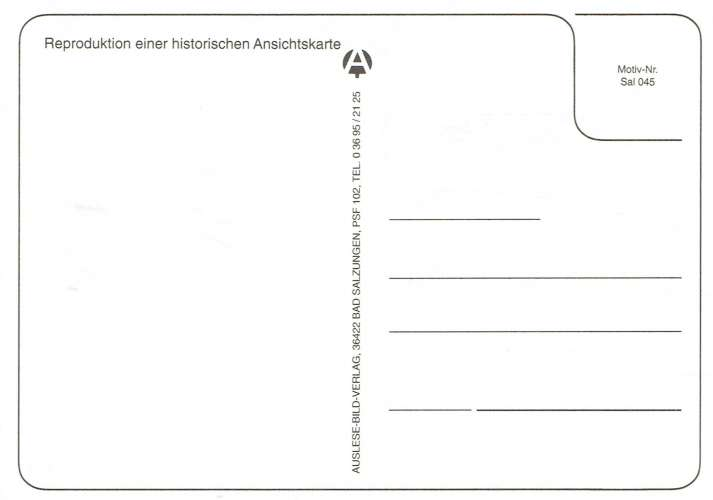 CP Reproduction - Thüringer Gruss : SALZUNGEN