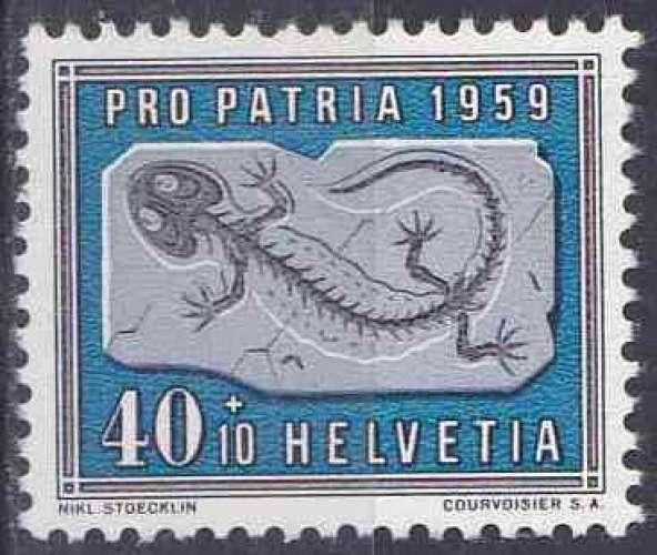 SUISSE 1959 NEUF charnière N° 629