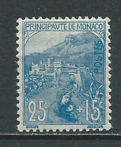 MONACO 1919  N° 30  Neuf *