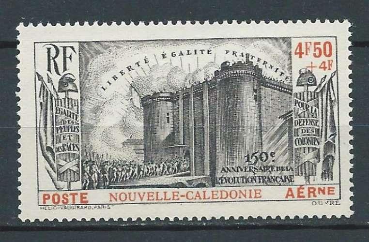 NOUVELLE-CALÉDONIE 1939  Poste aérienne N° 35  Neuf **