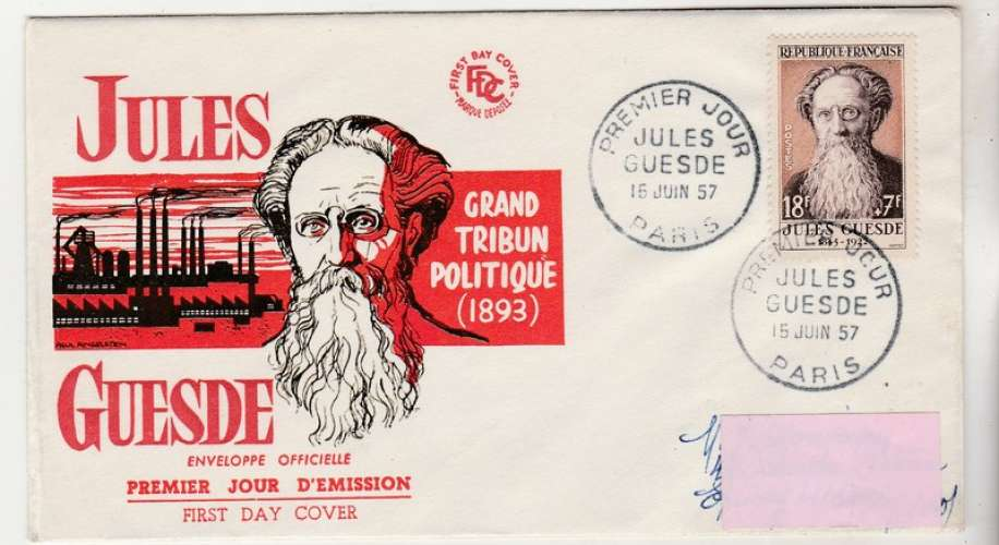 FDC   Jules Guesde 1113