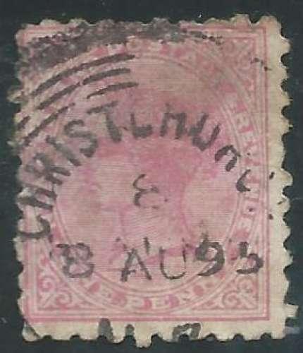 Nouvelle Zélande - Y&T 0053 (o) - Reine Victoria -