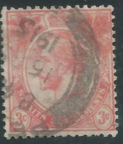 Malaisie - Malacca - Y&T 0139 (o) - Roi George V -