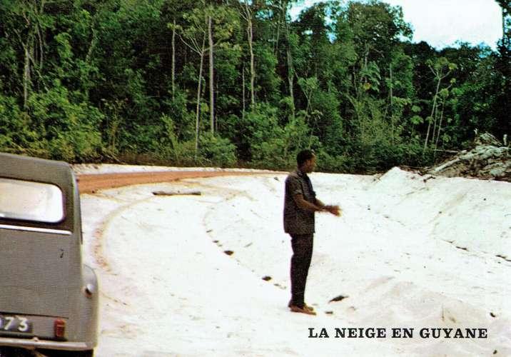 MANA : La neige en Guyane