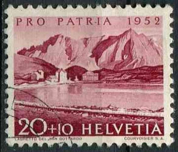 SUISSE 1952 OBLITERE N° 523